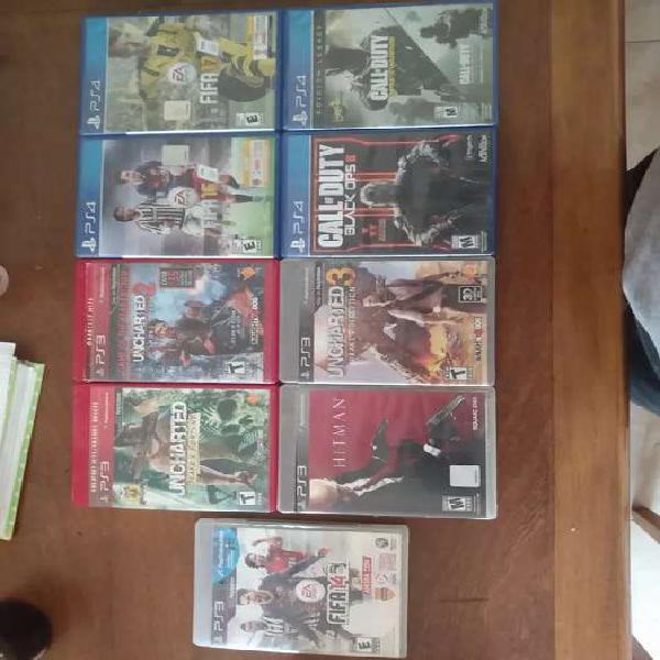 Juegos playstation 3 y 4!!