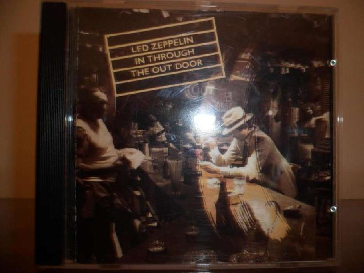 Led Zeppelin in through the out door cd