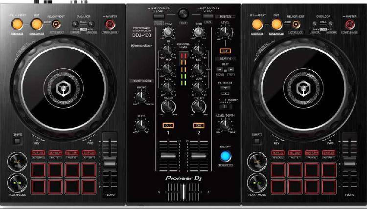 Liquido pioneer dj ddj 400 controlador 2 ch rekordbox dj pro