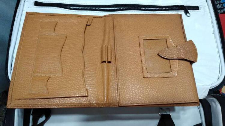 Porta agenda cuaderno tablet
