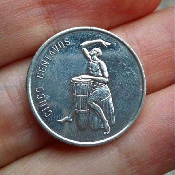 República dominicana 5 centavos 1989