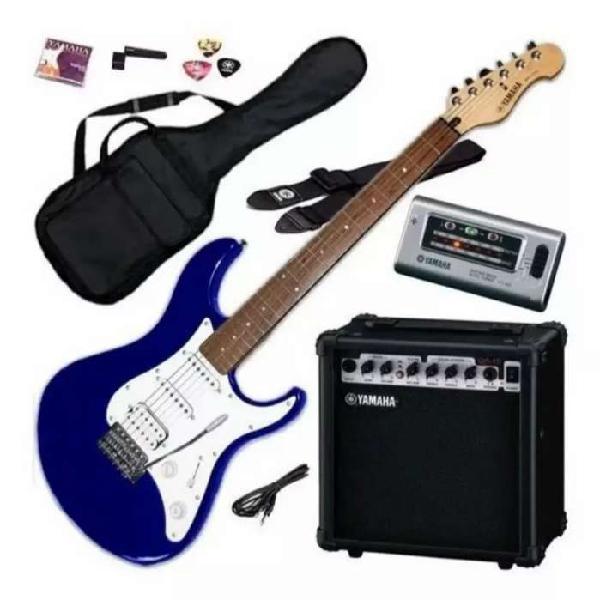 Vendo combo guitarra y amplificador yamaha / con accesorios