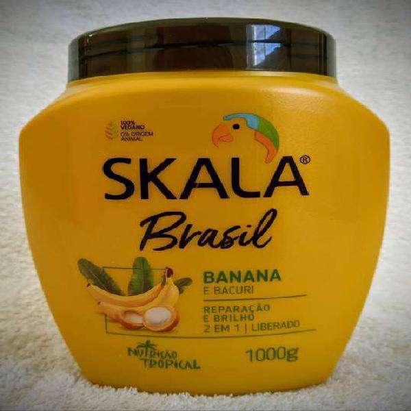 Crema para el pelo 2 en 1 skala brasil banana e bacuri