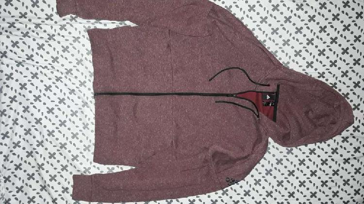 Campera hoodie adidas original training oferta! - talle m