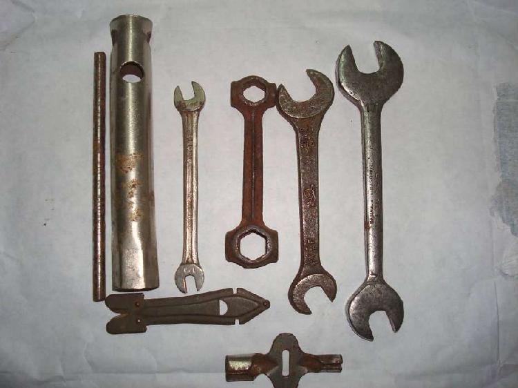 Lote herramientas usadas, llaves fijas, varias