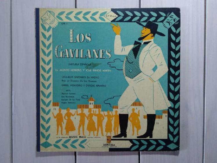 Lp vinilo los gavilanes zarzuela española (ver descuentos)