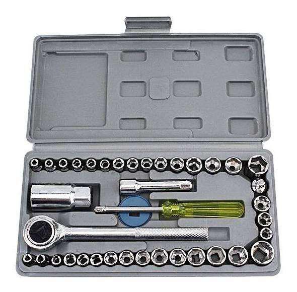 Set de herramientas llaves tubo 40 piezas oferton