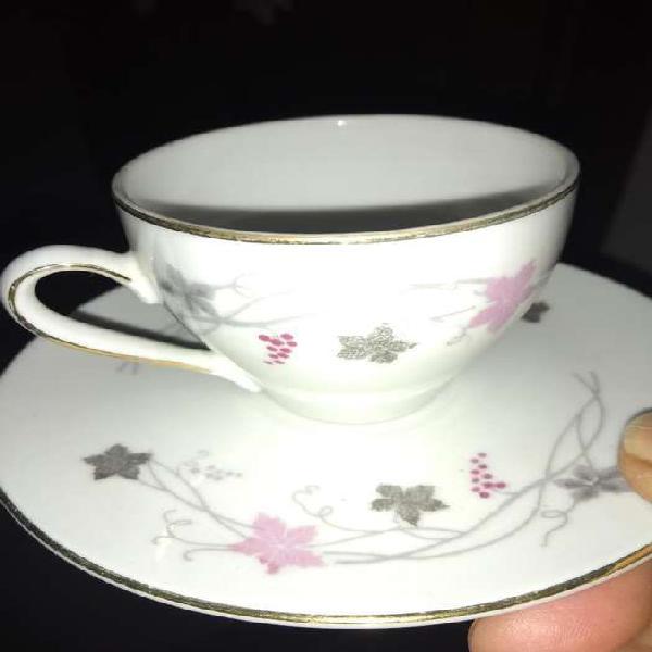 Tacitas y platos cafe tsuji