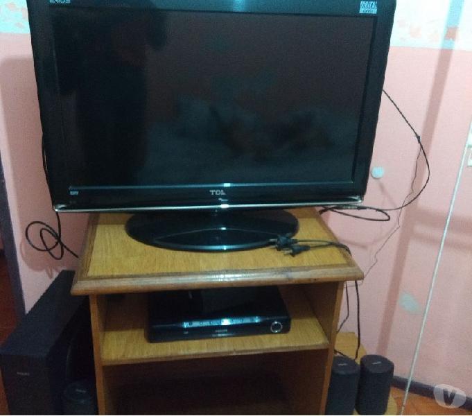 Vendo tv- home theather- mesa- antena portátil (excelentes)