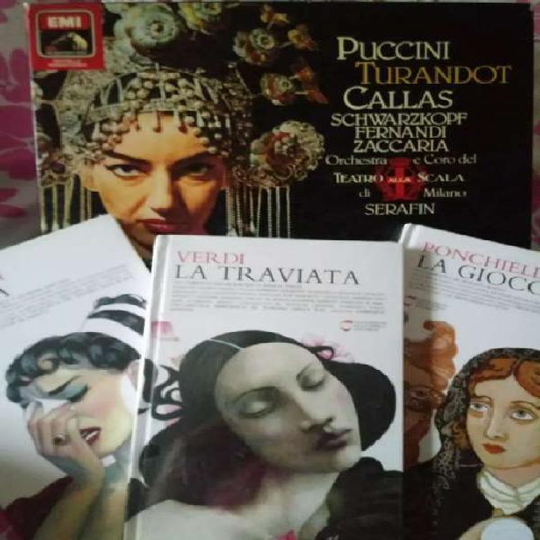 Colección maria callas vinilos más cd