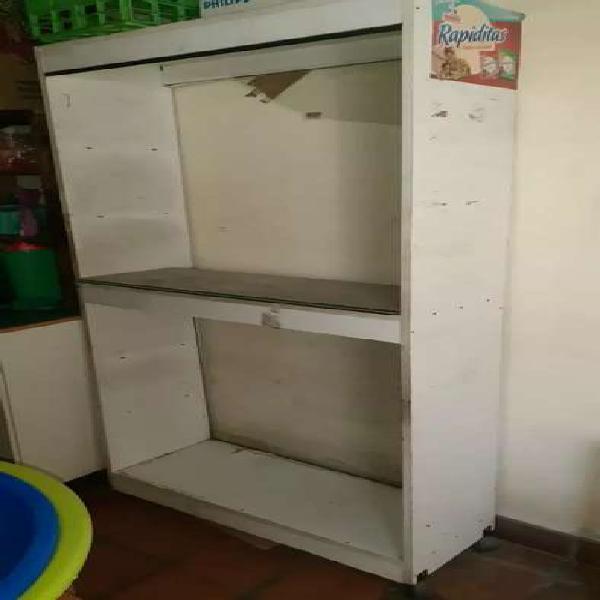 Liquido mueble aparador blanco para local comercial