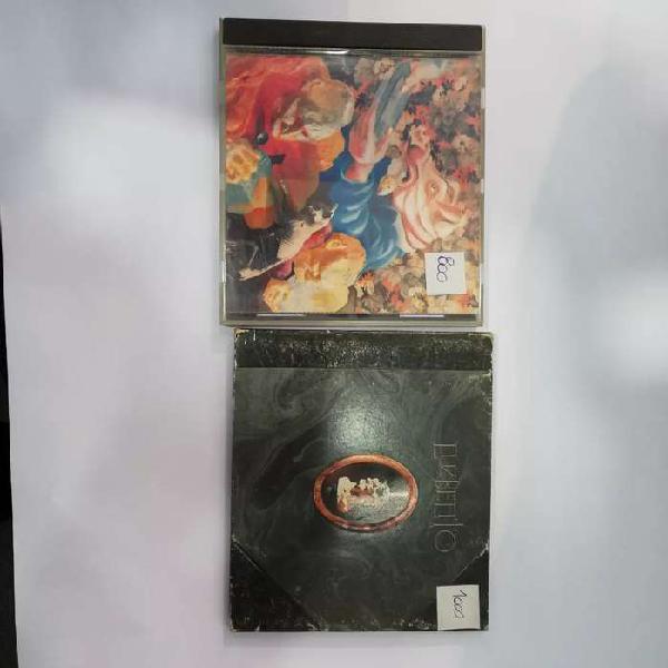 Lote 2 cds redondos