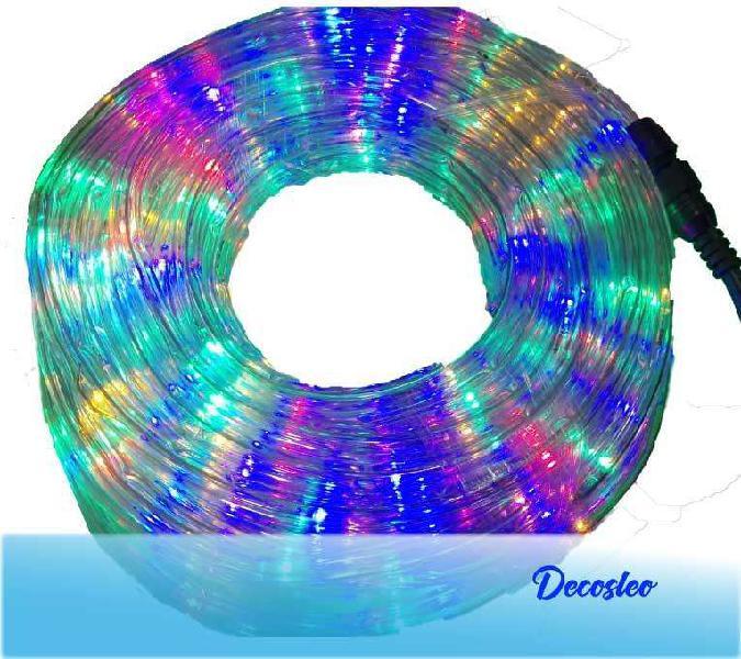 Manguera tira de led multicolor 5mts