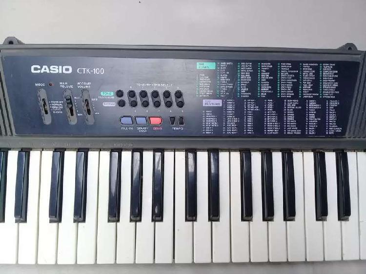 Piano/teclado casio ctk 100. organo