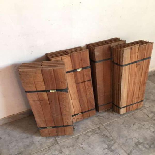 Piso entarugado de madera vivaro