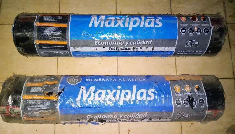 Vendo 2 rollos de membrana asfáltica con aluminio de 3,5mm