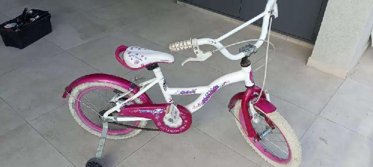 Bicicleta raleigh niñas rod 16