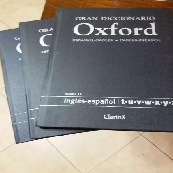 Diccionario oxford 15 tomos $1700