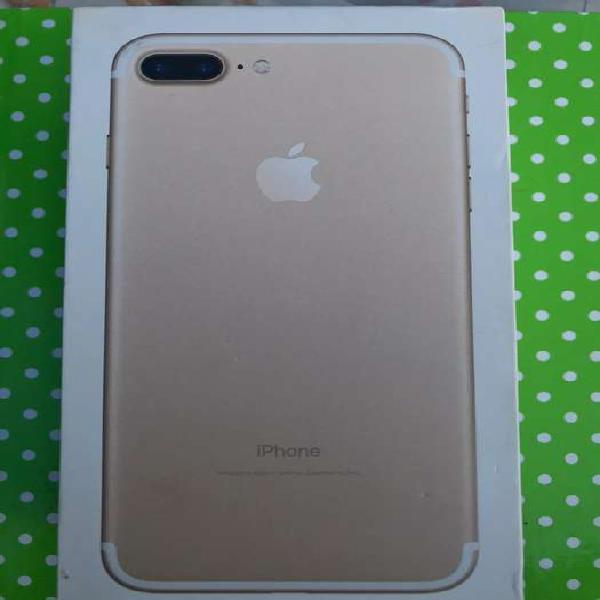 Iphone 7 plus 127gb- gold