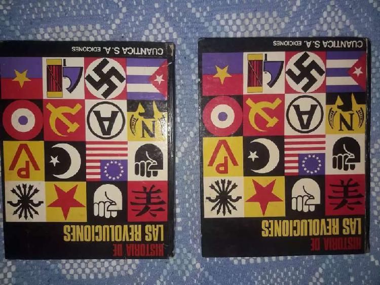 Libros la historia de las revoluciones (tomo 1 y 2) muy buen