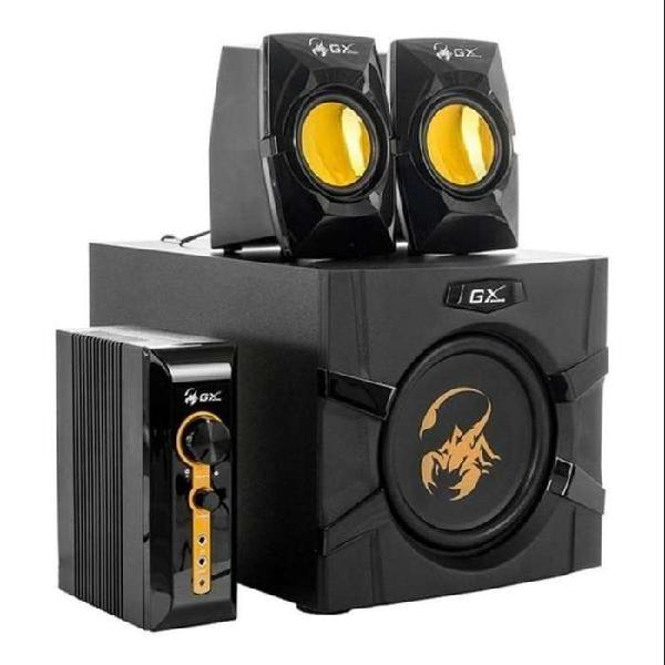 Parlantes gamer genius gx 3000 2.1 subwoofer 70w rms
