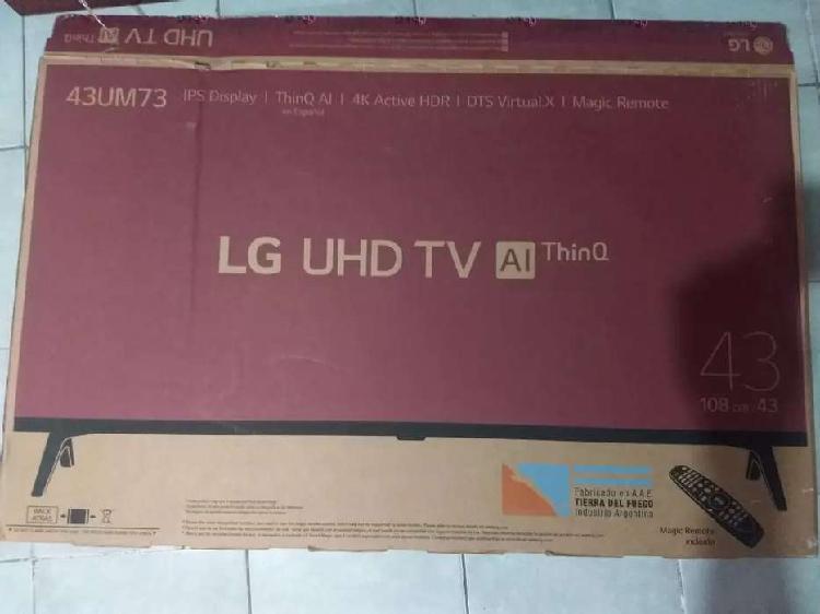 Televisor lg 43um7360 (pantalla rota)