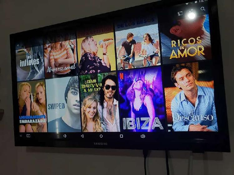 """Tv - monitor samsung 24"""" con todos sus accesorios."""