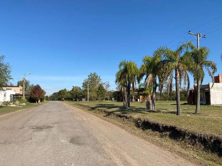 Vendo terreno en barrio cerrados solares de carcaraña -