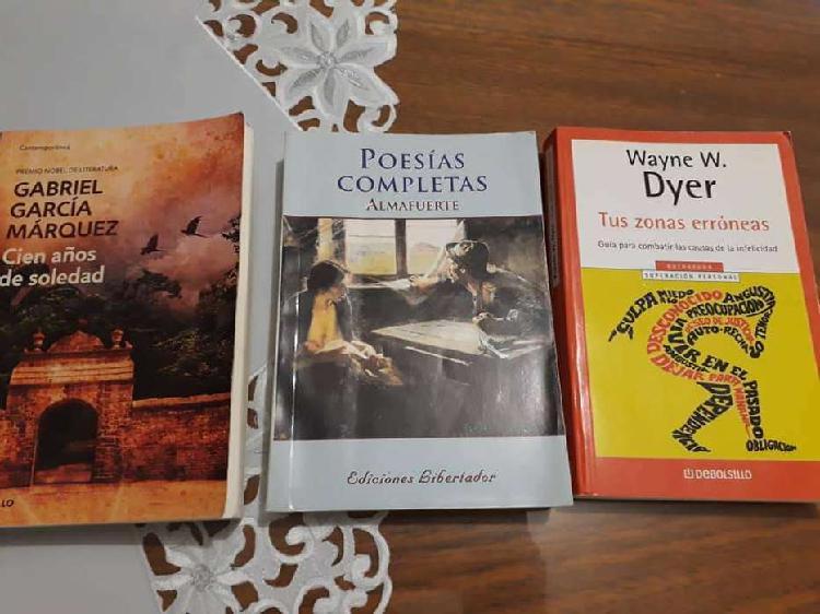 Vendo libros de Literatura.
