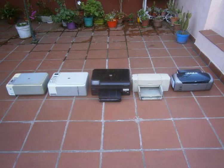 Impresoras hp varios modelos y epson