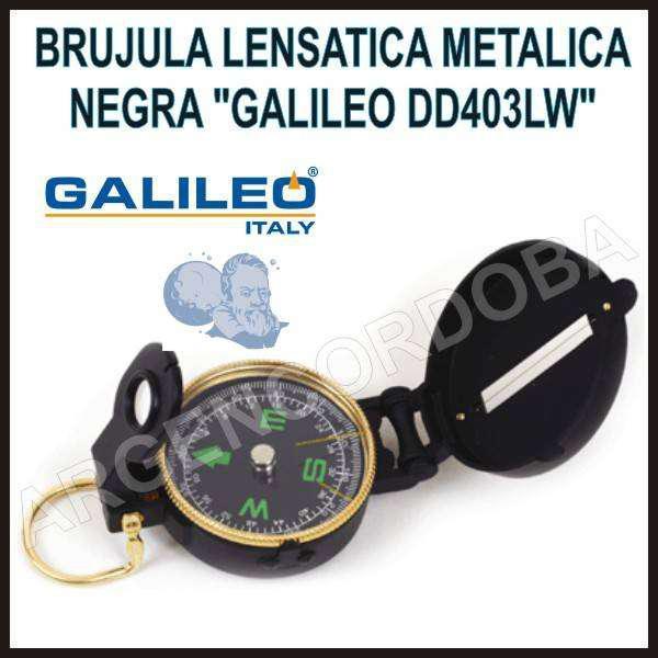 Brujula galileo de marcha metalica