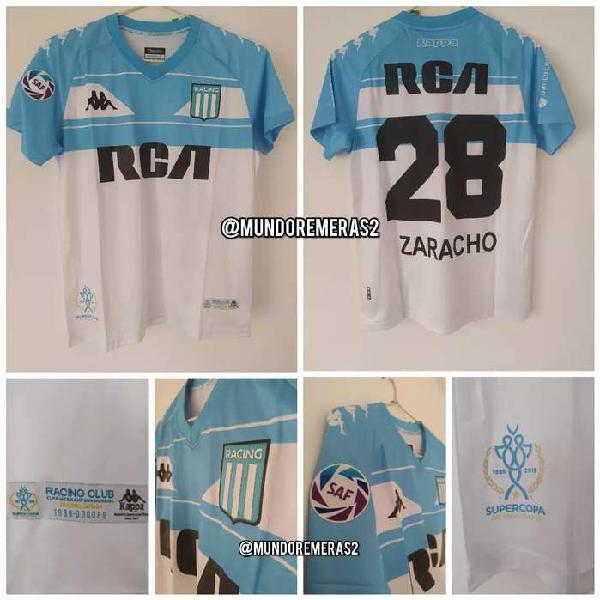 Camiseta racing club supercopa 2018 zaracho