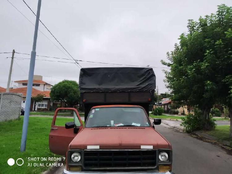 Chevrolet c10 pick up con mudanzera nafta gnc