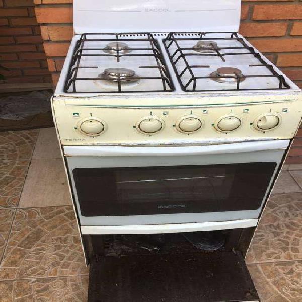 Cocina a gas natural - usada