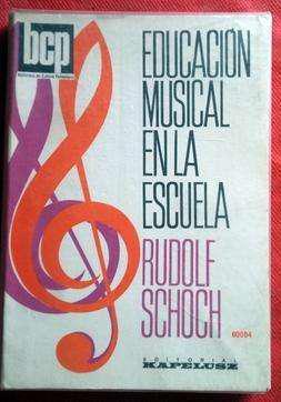 Educación musical en la escuela rudolf schoch