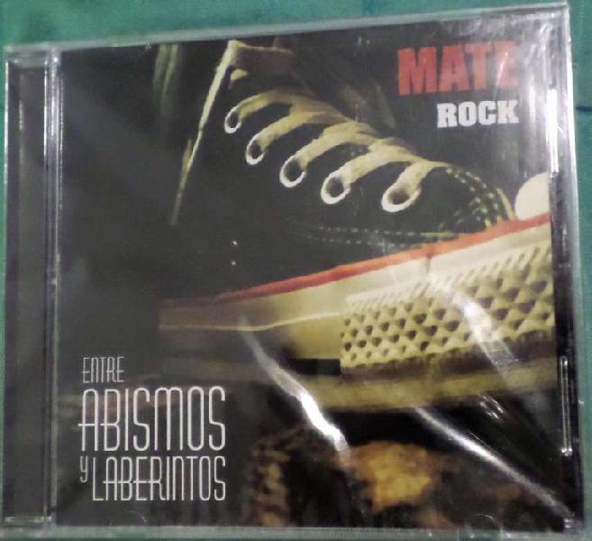 Mate rock. entre abismos y laberintos. cd original. sellado.