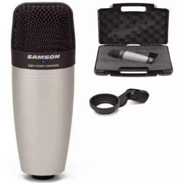 Microfono samson c01 de estudio de grabacion