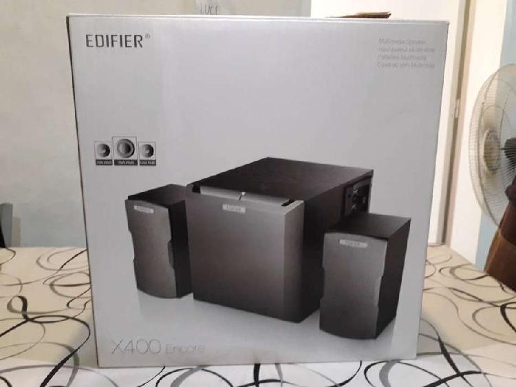 Parlante 2.1 edifier x400 36w impecable nuevo en su caja