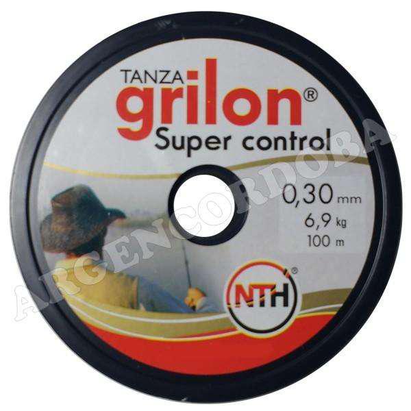 Tanza grilon super control 0.30 multicolor x100m