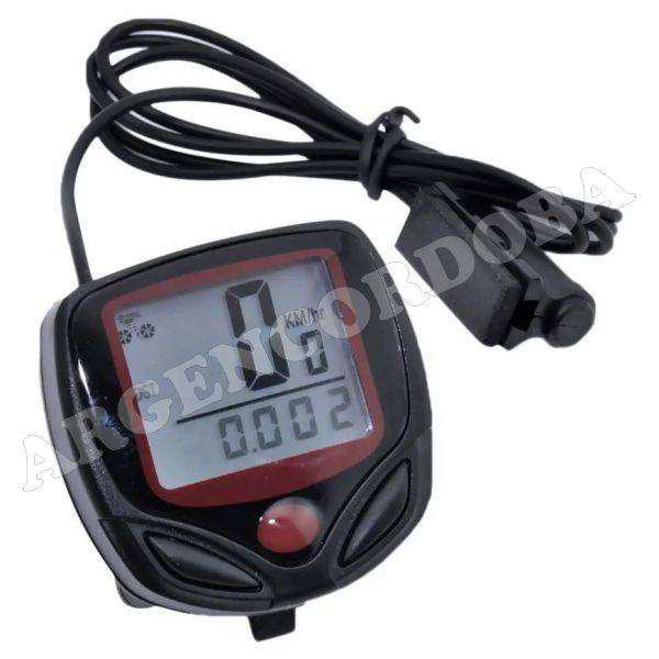 Velocimetro digital para bicicleta 15 funciones sb-318