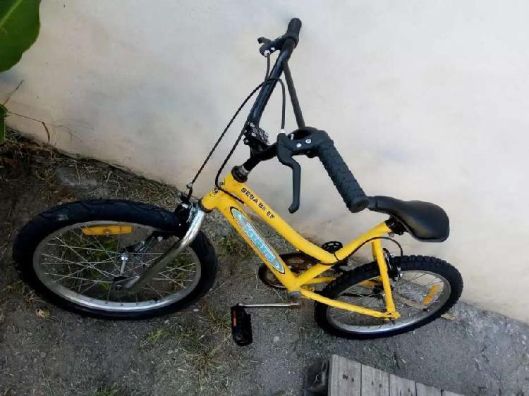 Vendo bicleta de niño modelo bmx