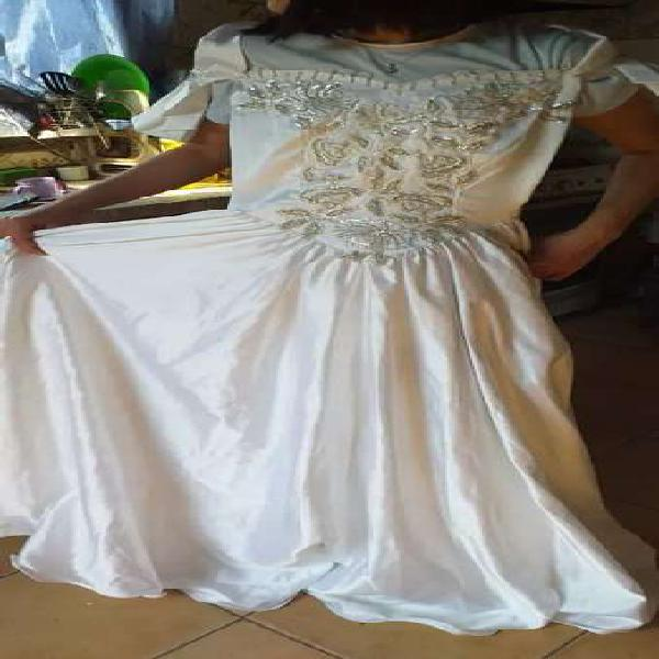 Vestido de novia hermoso talle s