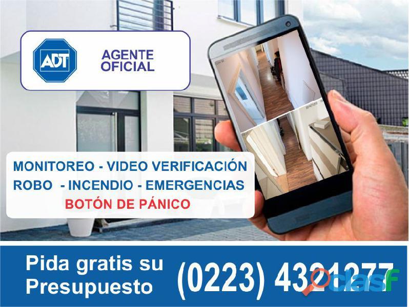 Adt alarmas en mar del plata tel (0223) 4321277 agente oficial