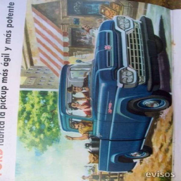 Manual de taller dodge 1970 / despiece pick up ford f-100
