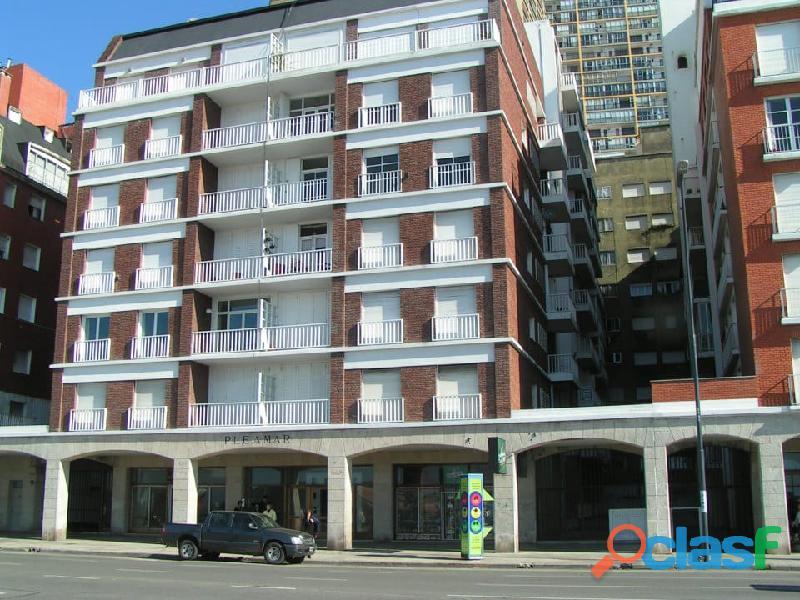 Oportunidad dueño departamento 1 ambiente balcón frente al mar amoblado calefactor acepta permuta 1