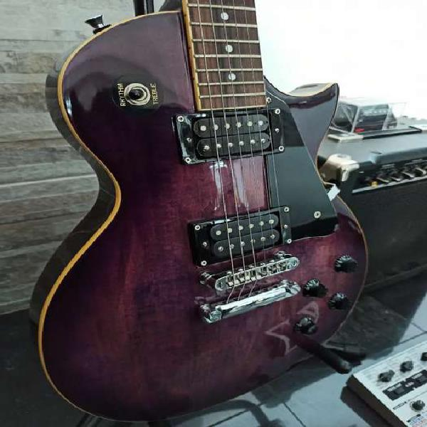 Guitarra Jay Turser estilo Les Paul con Paf DiMarzio dp103