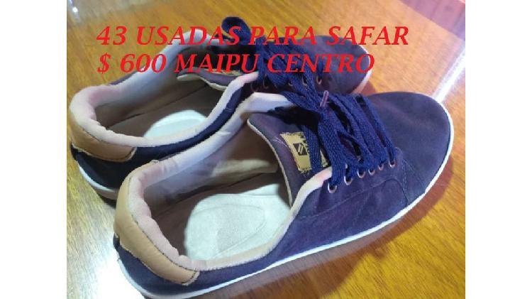 Zapatillas numero 43 usadas sanas $ 600 zona maipu centro