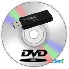 DVD y CD a Pendrive.