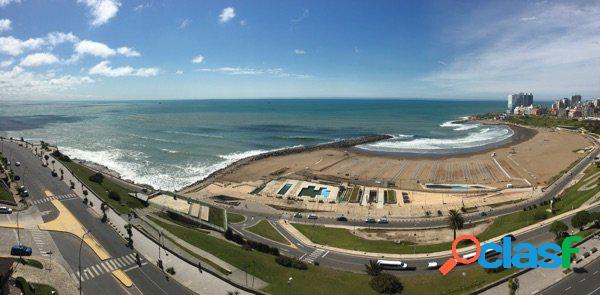 Alquiler por temporada departamento con vista plena al mar