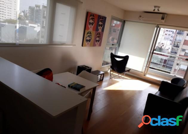 2 ambientes en venta con baulera y cochera